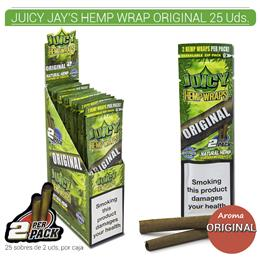 JUICY JAY´S HEMP WRAP ORIGINAL 25 Uds.9902267