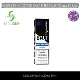 HANGSEN NIC SALTS FRUTOS DEL BOSQUE 20 mg 10 ml 10 Uds.