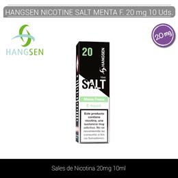 HANGSEN NIC SALTS MENTA FRESCA 20 mg 10 ml 10 Uds.