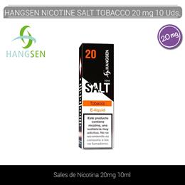 HANGSEN NIC SALTS TOBACCO 20 mg 10 ml 10 Uds.
