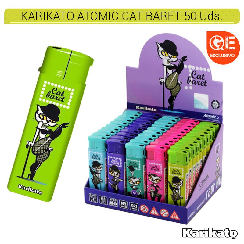 KARIKATO ATOMIC CAT BARET 50 Uds. 36.07381