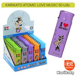 KARIKATO ATOMIC LOVE MUSIC 50 Uds. 36.07380