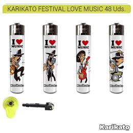KARIKATO ATOMIC FESTIVAL LOVE MUSIC 48 Uds. 39.35220