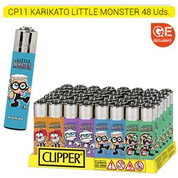 KARIKATO CLIPPER LITTLE MONSTER 48 Uds.
