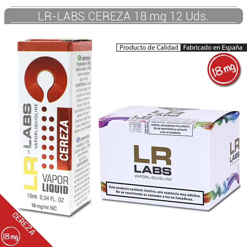LR-LABS E-LIQUID CEREZA 18 mg 12 Uds.