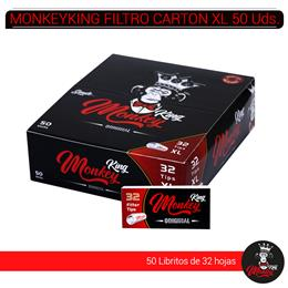 MONKEYKING FILTROS CARTON 32 XL 50 Uds. MB32