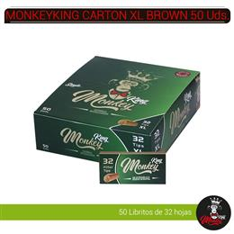 MONKEYKING FILTROS CARTON BROWN 32 XL 50 Uds. MM32