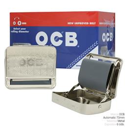 OCB ROLLER AUTOMATIC 70 mm. 6 Uds.