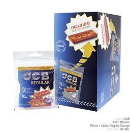 OCB FILTROS REGULAR + LIBRITO ORANGE 30 Uds.