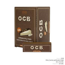 OCB FILTROS CARTON VIRGIN 25 Uds.