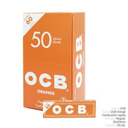 OCB REGULAR Nº1 ORANGE 50 Lib.