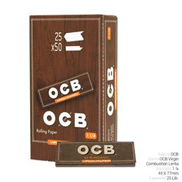 OCB 1 1/4 VIRGIN 25 Lib.