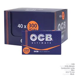 OCB BLOC 300 ULTIMATE 40 Lib.