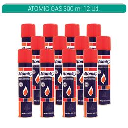 ATOMIC GAS 300 ml S/C 12 Uds. 01.42015