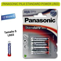 PANASONIC PILA EVERYDAY POWER LR03 12 Blísters