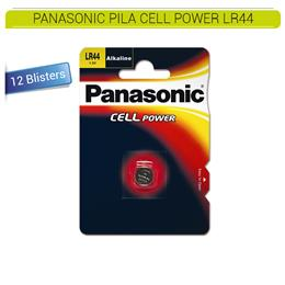 PANASONIC PILA CELL POWER LR44 12 Blísters