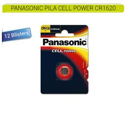 PANASONIC PILA CELL POWER CR1620 10 Blísters