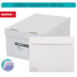 SOBRES 190 x 250 mm. AUTODEX  250 Uds. 46219