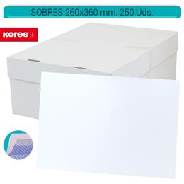 SOBRES 260 x 360 mm. AUTODEX 250 Uds. 52219
