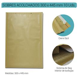 SOBRES ACOLCHADOS AIR BAG 300 x 445 mm. KRAFT 10 Uds. Nº19
