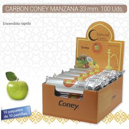 CARBON CONEY MANZANA 33 mm. 100 Uds. 01.23011