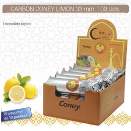 CARBON CONEY LIMON 33 mm. 100 Uds. 01.23014