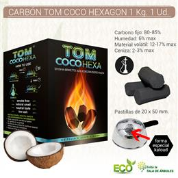 CARBON TOM COCO HEXAGON 1 Kg. 1 Ud. K361