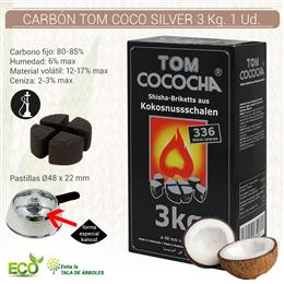 CARBON TOM COCO SILVER 3 Kg. 1 Ud. K353
