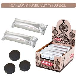 CARBON ATOMIC 33 mm. 100 Uds. 01.23000