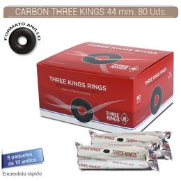 CARBON THREE KINGS 44 mm. 80 Uds.