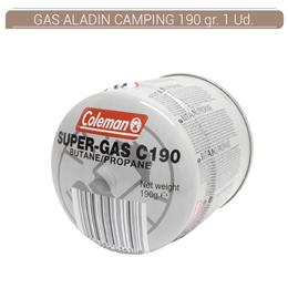 GAS ALADIN CAMPING 190 grs 1 Ud. GASK
