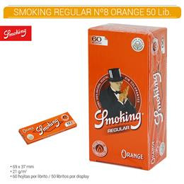 SMOKING REGULAR Nº 8 ORANGE 50 Lib.