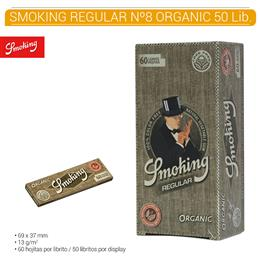 SMOKING REGULAR Nº 8 ORGANIC 50 Lib.