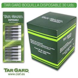 TAR GARD BOQUILLA DISPOSABLE 30 Uds. 0801.0201