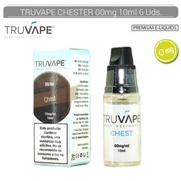 TRUVAPE E-LIQUID CHEST 00 mg 10 ml 6 Uds. TV034