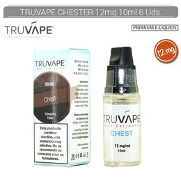 TRUVAPE E-LIQUID CHEST 12 mg 10 ml 6 Uds. TV037