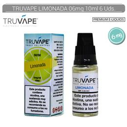 TRUVAPE E-LIQUID LIMONADA 06 mg 10 ml 6 Uds. TV046