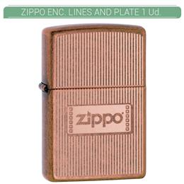 ZIPPO ENC. LINES AND PLATE 1 Ud. 60003783