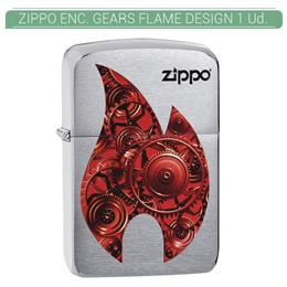 ZIPPO ENC. GEARS FLAME DESIGN 1 Ud. 60003752