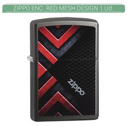 ZIPPO ENC. RED MESH DESIGN 1 Ud. 60003771