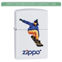 ZIPPO ENC. SNOWBOARDER JUMPING 1 Ud. 60003796
