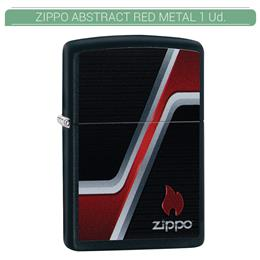 ZIPPO ENC. ZIPPO ABSTRACT RED METAL 1 Ud. 60004667