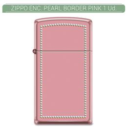 ZIPPO ENC. PEARL BORDER PINK 1 Ud. 60000022