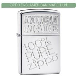 ZIPPO ENC. AMERICAN MADE 1 Ud. 60000358