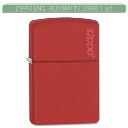 ZIPPO ENC. RED MATTE LOGO 1 Ud. 60001204 [855819]