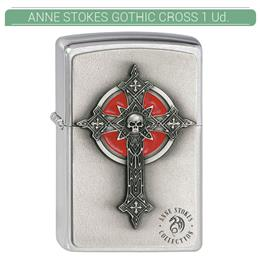 ZIPPO ENC. ANNE STOKES GOTHIC CROSS 1 Ud. 2002005