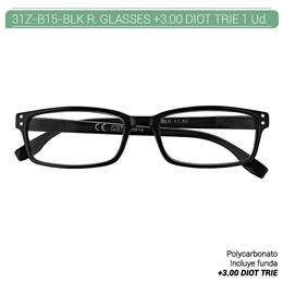 ZIPPO READING GLASSES +3.00 DIOT TRIE 1 Ud. 31Z-B15-BLK300 [2006189]