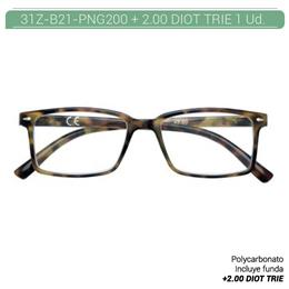 ZIPPO READING GLASSES +2.00 DIOT TRIE 1 Ud. 31Z-B21-PNG200 [2006663]