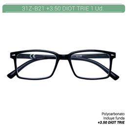 ZIPPO READING GLASSES +3.50 DIOT TRIE 1 Ud. 31Z-B21-BLK350 [2006660]