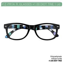 ZIPPO READING GLASSES +1.00 DIOT TRIE 1 Ud. 31Z-PR1A-100 [2006113]